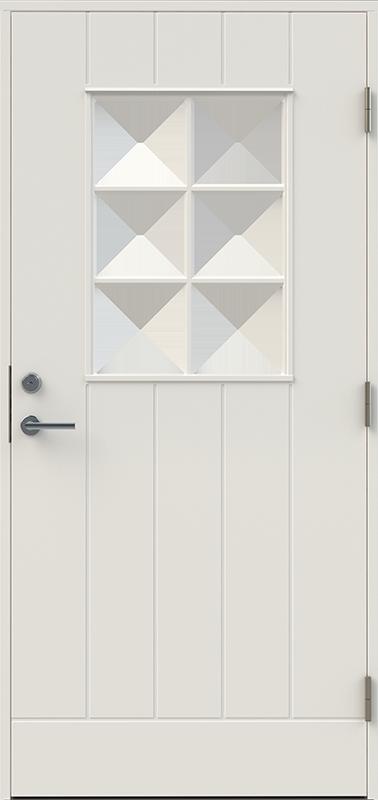 Utklippan Glas dörr från Allwi produkter